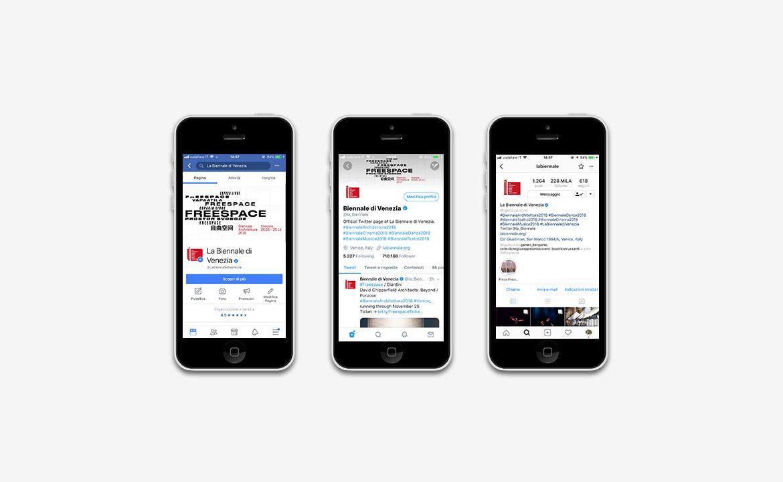 BiennaleArchitettura 2018 | Social Media Consultant